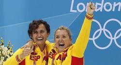 Bet Fernández, junto a Anna Tarrés en los Juegos Olímpicos de Londres. | EFE/Archivo