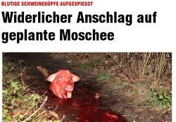 La imagen que encabeza la noticia en el diario Bild
