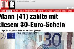 La noticia publicada en el diario Bild