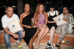 Bimba Bosé y Marta Gayá, además de David Delfín, Cristina Macaya y Corinna Graf. | Estudio Javier Escobar