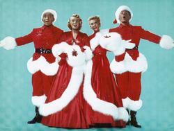 Bing Crosby, Rosemary Clooney, Vera Ellen y Danny Kaye, interpretes de la película 'White Christmas' | Corbis