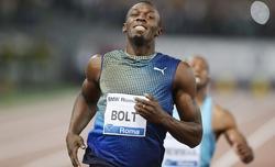 Bolt, durante la final de Roma. | Cordon Press