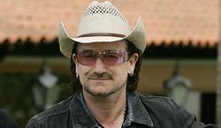 Bono en una foto de archivo de 2006 . | Wikipedia