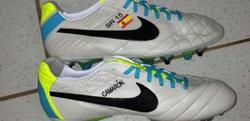 Las nuevas botas de Sergio Ramos. | Foto: Twitter