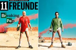 La portada y la imagen de 'Breaking Bad'