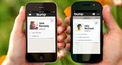 La aplicación Bump. | BUMP