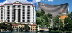 El Caesar's Palace y el Wynn Las Vegas | Imágenes de Wikipedia