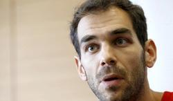 José Manuel Calderón, en rueda de prensa. | EFE