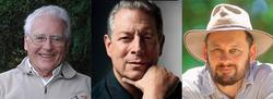 James Lovelock, Al Gore y Tim Flannery