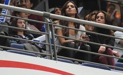 Sara Carbonero, en las gradas del Palacio de los Deportes de Madrid | Cordon Press