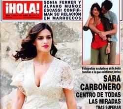Sara Carbonero en la portada de ¡Hola!