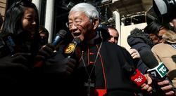 El cardenal Zen, en Roma el pasado mes de febrero | Cordon Press