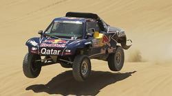 Carlos Sainz, en la tercera etapa del Rally Dakar. | EFE