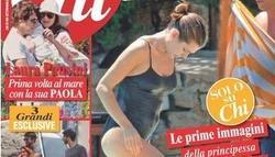 Carlota de Mónaco | Portada revista Chi