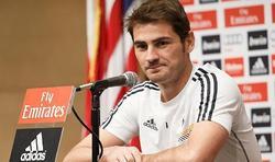 Casillas en rueda de prensa | Archivo