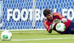 Iker Casillas, portero de la selección española. | Cordon Press