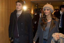 Iker Casillas y su novia, Sara Carbonero | Cordon Press