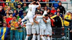 El Castilla celebra un gol | Archivo