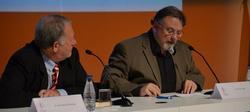 César Vidal durante la conferencia | UCAV