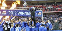 El Chelsea celebra su título de la FA Cup. | EFE