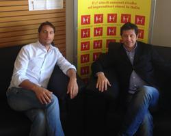 Allberto y Simone Toppino, fundadores de Venderachinos.es