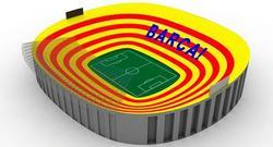El mosaico que lucirá el Camp Nou. | FCBarcelona