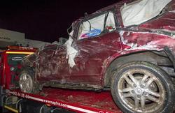Así quedó el coche tras el accidente | EFE
