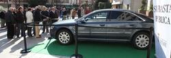 El coche de Pedro Castro, expuesto en el consistorio | Ayuntamiento de Getafe