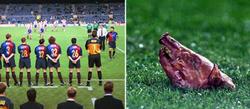 Plante del Barça a la Copa y cabeza de cochinillo en el Camp Nou.