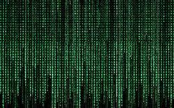 Código en el que estaba escrito el universo virtual de 'Matrix'
