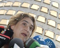 Ada Colau ante el Tribunal Constitucional | EFE