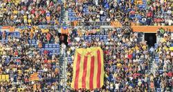 El Camp Nou, durante el concierto soberanista.