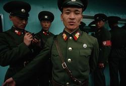 Militares norcoreanos. | Corbis