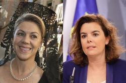 Cospedal y Soraya Sáenz de Santamaría