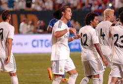 Criatiano Ronaldo celebra uno de sus goles ante el Chelsea. | EFE