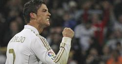 Cristiano celebra con rabia su gol. | EFE