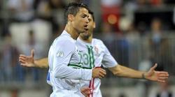 Cristiano, jugando con su selección. | Archivo