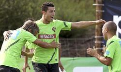 Cristiano Ronaldo sonríe con la selección portuguesa. | EFE