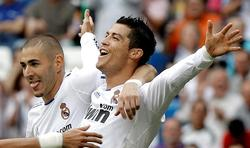 Cristiano Ronaldo celebra un gol del Real Madrid | Cordon Press