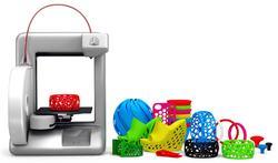 Así es la impresora 3D.   Cubify