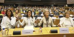 Las Damas de Blanco, en el Parlamento Europeo | EFE