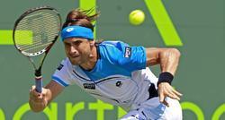 David Ferrer, durante el Masters 1000 de Miami. | Cordon Press