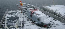 Uno de los Sikorsky SH60 con los que ya cuenta la Armada española. | Armada