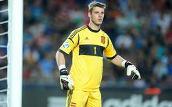 David de Gea, en un partido de la Selección sub20 | Cordon Press