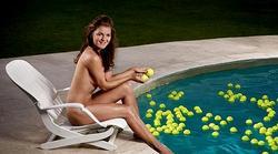 Posado de la tenista polaca Agnieszka Radwanska.   ESPN