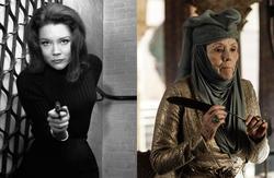 Diana Rigg en Los Vengadores y Juego de Tronos