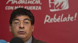 Diego Valderas, durante un acto de IU. | EFE