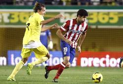 Diego Costa, durante el partido del Atlético en El Madrigal. | EFE