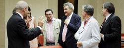 Diputados antes del pleno de la Diputación Permanente | EFE