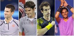 Djokovic, Federer, Murray y Nadal.